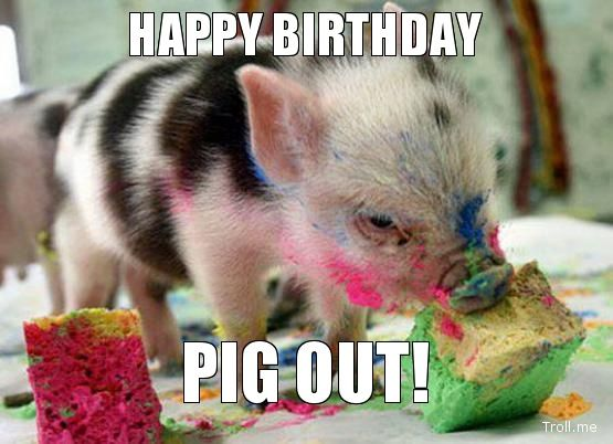 happy birthday joel aka my piggy! gaming masters