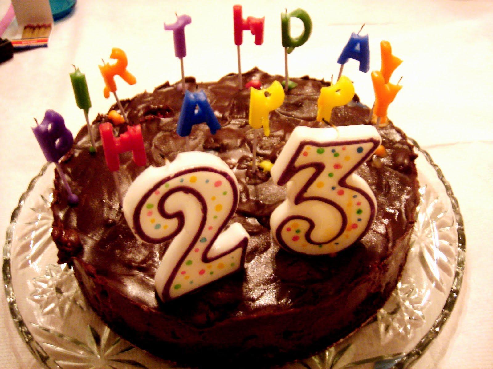 Открытка с днем рождения 23 года сыну, для кумы